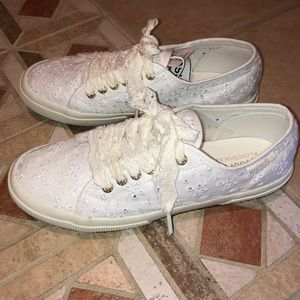 Superga X LoveShackFancy Eyelet Sneakers Size 10